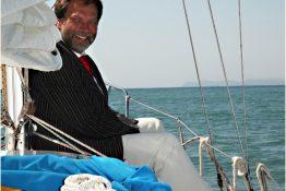 freie Hochzeit auf dem Meer